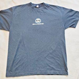 Men's Navy Billabong T-Shirt Sz L